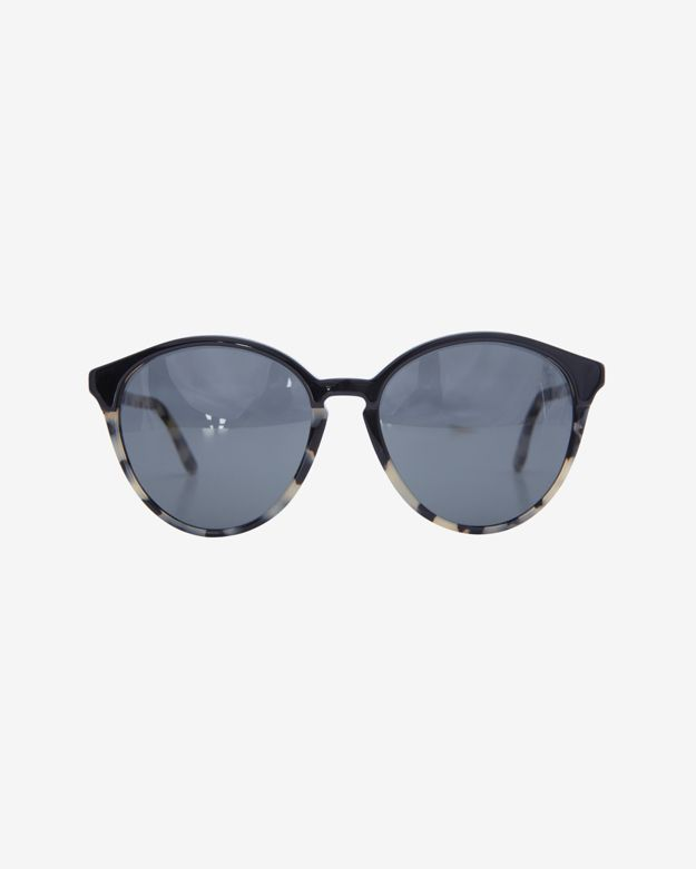 Stella McCartney Oversized Cateye Sunglasses: Spotty Tortoise