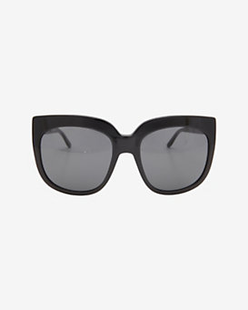 Stella McCartney Black Rim/Grey Lens Sunglasses