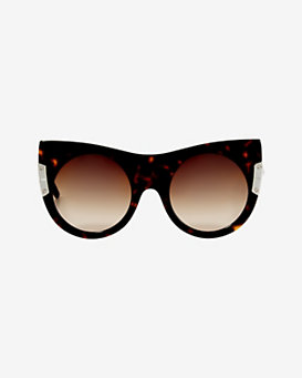 Stella McCartney Spotted Tortoise Gradient Lens Sunglasses