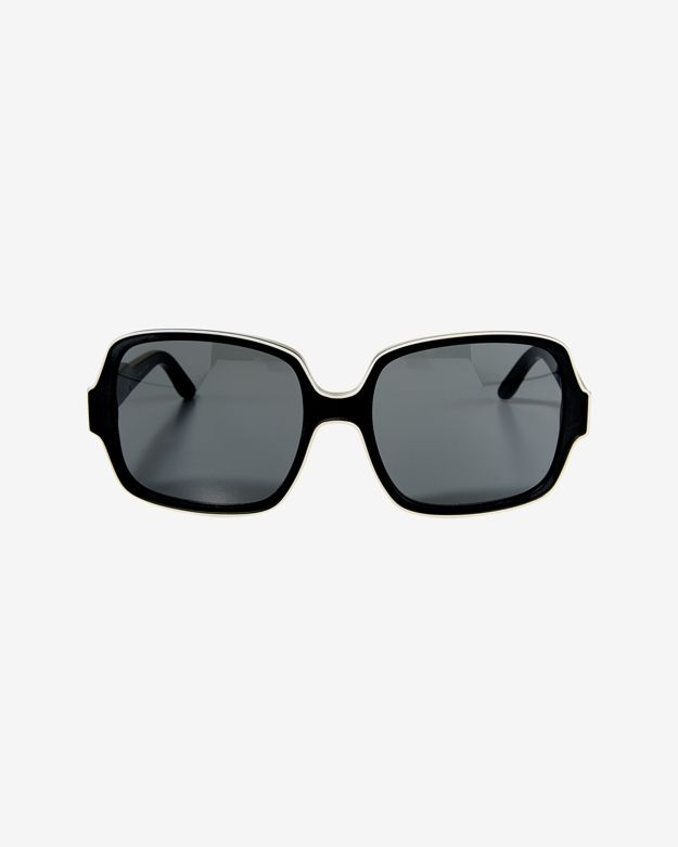 Stella McCartney Tortoise Sunglasses: Black/White