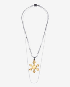 Eddie Borgo Pointed Star Pendant Necklace