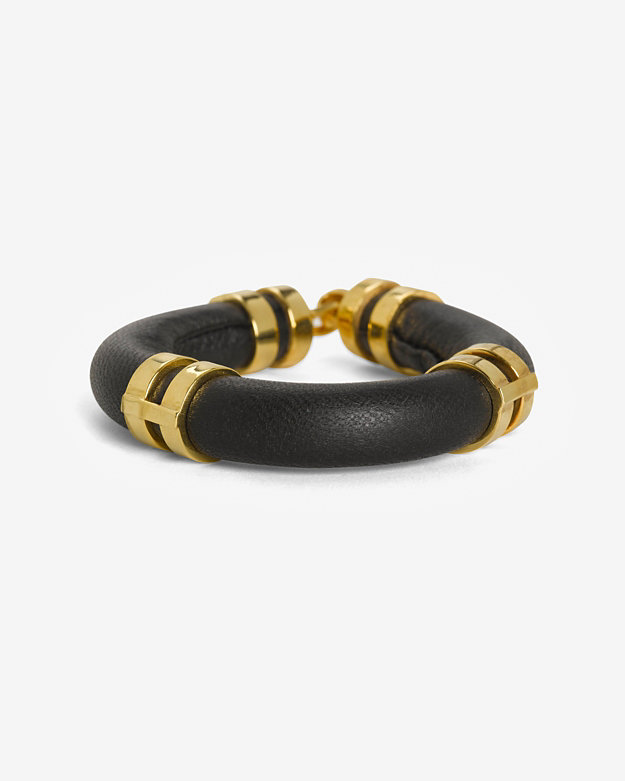 Lizzie Fortunato Double Take Bracelet: Black