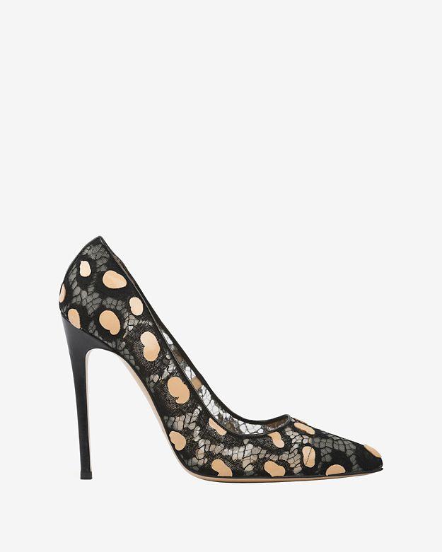 bionda-castana-leopard-spot-lace-pump by bionda-castana