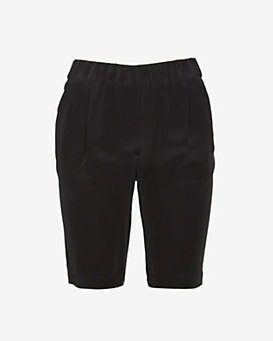 Exclusive for Intermix Double Pocket Long Shorts: Black
