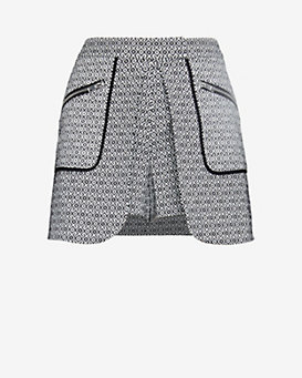 Exclusive for Intermix Zipper Detail Skort