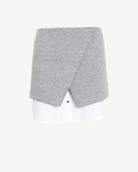 Exclusive for Intermix Double Layer Asymmetric Skirt
