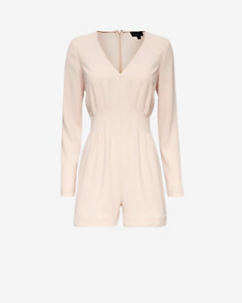 Exclusive for Intermix Lily Pleated Romper
