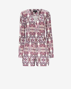 Exclusive for Intermix Tulum Print Romper