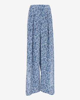 Exclusive for Intermix Side Slit Seychelles Print Pant