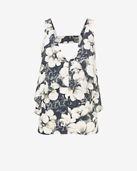 Exclusive for Intermix Leah Flutter Top