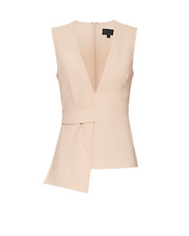 Exclusive for Intermix Minka Sleeveless Top: Blush