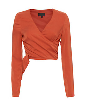 Exclusive for Intermix Whitney Tie Top