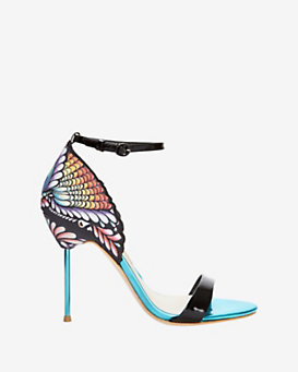 Sophia Webster Flutura Peacock Sandal