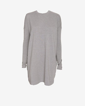 SWEATS by Norma Kamali Sweatshirt Dress