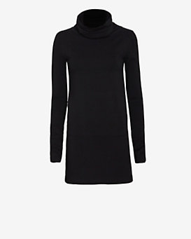 SWEATS by Norma Kamali Turtleneck Dress