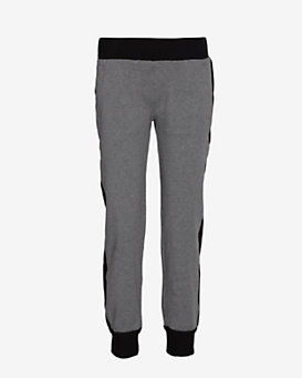 SWEATS by Norma Kamali Side Stripe Sweatpants