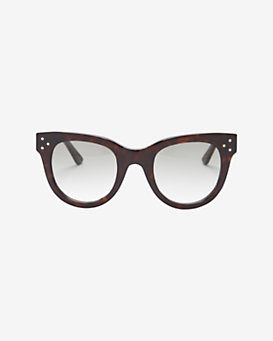 Spektre Sunglasses Gradient Lens Sunglasses: Dark Havana