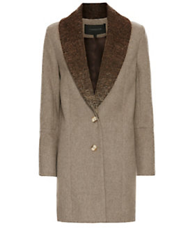 Thakoon Shawl Collar Coat