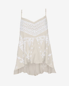 Love Sam Embroidered Cami