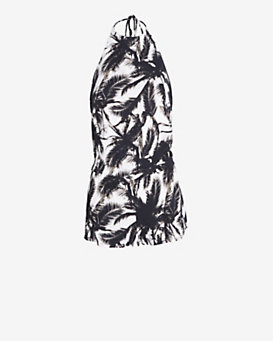Mikoh Palm Tree Print Romper
