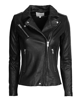 IRO EXCLUSIVE Belted Leather Jacket