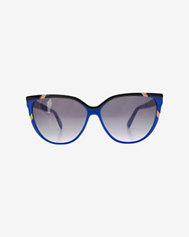 Selima Optique Wayfarer Sunglasses: Cobalt