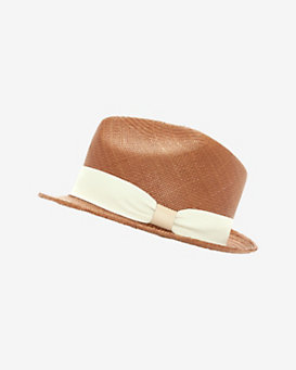 Hat Attack Short Brim Panama Fedora