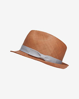 Hat Attack Short Brim Straw Fedora