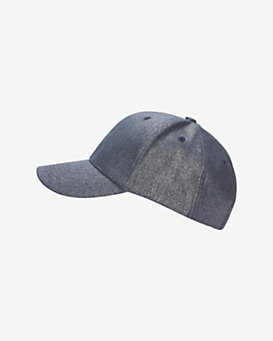 Hat Attack Metallic Denim Baseball Cap