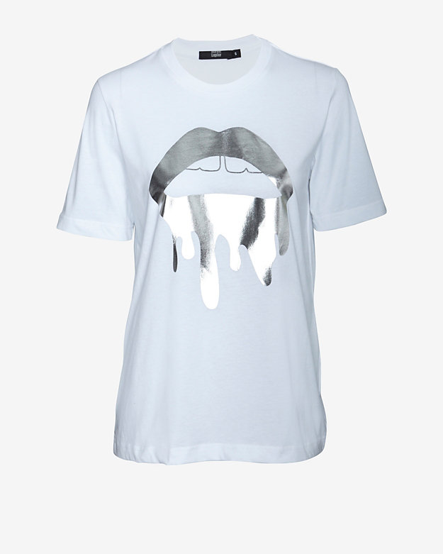 Markus Lupfer EXCLUSIVE Foil Lip Graphic Tee
