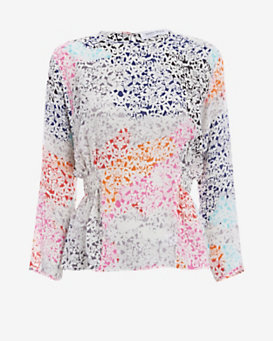 Tanya Taylor EXCLUSIVE Mulloy Printed Blouse