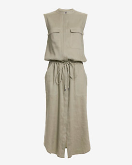 Vince Sleeveless Cargo Dress