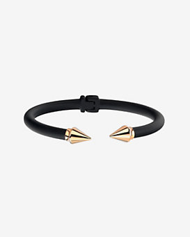 Vita Fede Two Tone Mini Titan Bracelet: Black/Gold