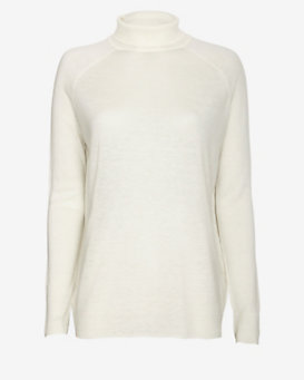 Vince Tissue Cashmere Blend Turtleneck