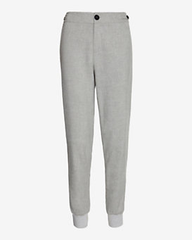 Vince Ribbed Cuff Trouser