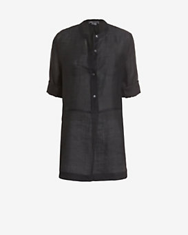 Vince Mid Placket Tunic