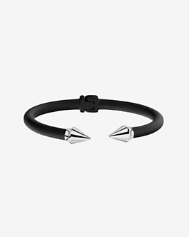 Vita Fede Two Tone Mini Titan Bracelet: Black/Silver
