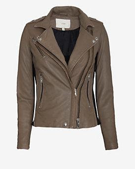 IRO EXCLUSIVE Double Zipper Leather Jacket