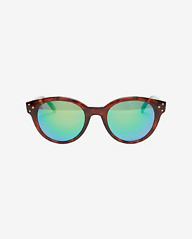 Spektre sunglasses Mirrored Lense Sunglasses: Tortoise
