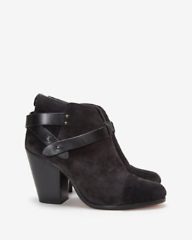 rag & bone Harrow Harley Suede Boot: Asphalt
