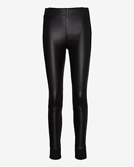 rag & bone/JEAN Danny Leather Legging: Black