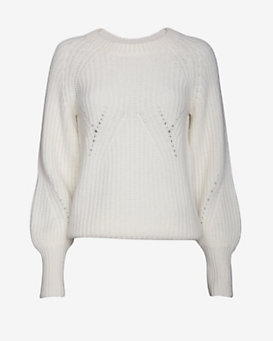 Christopher Fischer Blouson Sleeve Sweater