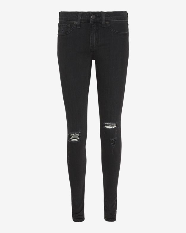 rag & bone/JEAN Destroyed Soft Rock Skinny