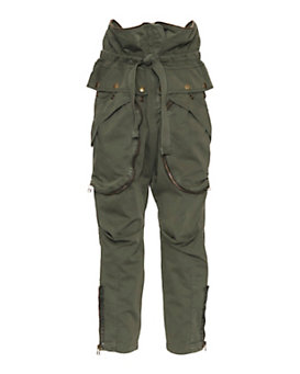 Faith Connexion Zipper Detail Cargo Pants