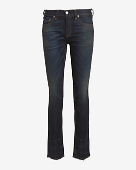 rag & bone/JEAN Santiago Raw Edge Hem Crop