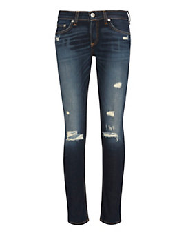 rag & bone/JEAN Shredded Capri