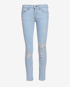 rag & bone/JEAN EXCLUSIVE Shredded Skinny: Norte