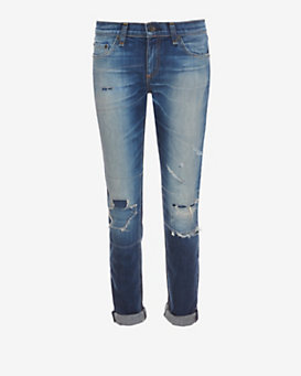 rag & bone/JEAN Surfer Repair Dre Slim Boyfriend