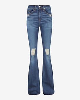 rag & bone/JEAN EXCLUSIVE Beckett Distressed Bell