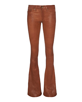 rag & bone/JEAN EXCLUSIVE Leather Bell: Cognac